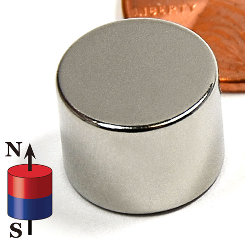 "1/2X3/8"" NdFeB Rare Earth Disc Magnet"