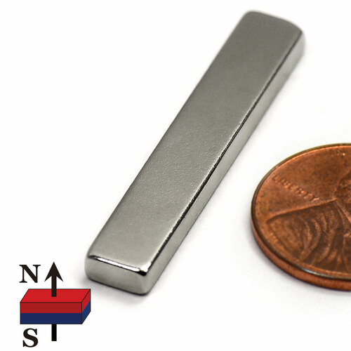 "N50 1.5x1/4x1/8"" neodymium magnets"