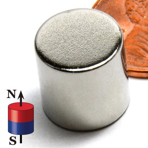 "1/2""x1/2"" Neodymium Rare Earth Cylindrical Magnet"