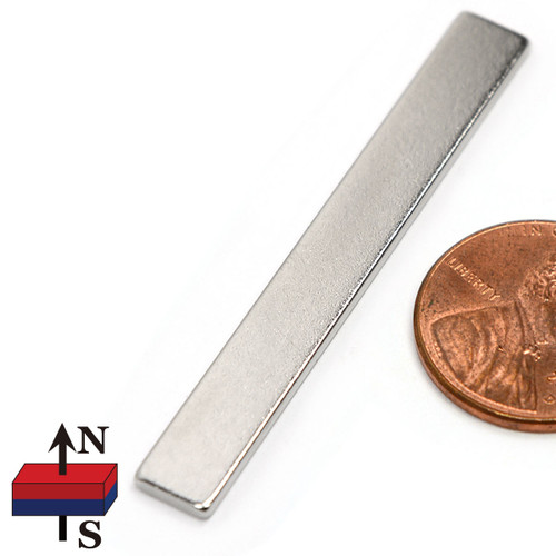 2x1/4x1/16 rectangle neodymium magnets