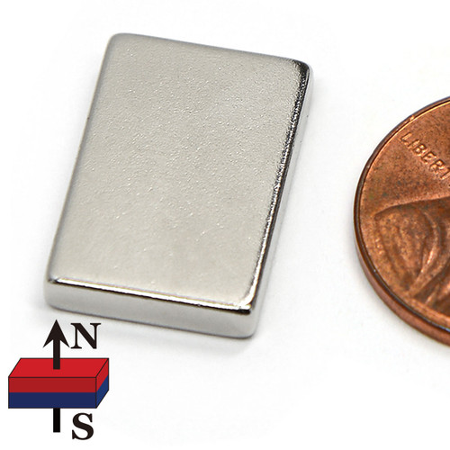 N50 small flat magnets magnetic block