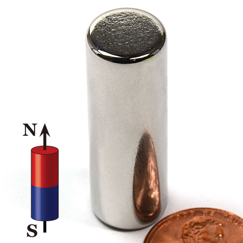 "1/2X1.5"" NdFeB Rare Earth Magnet"