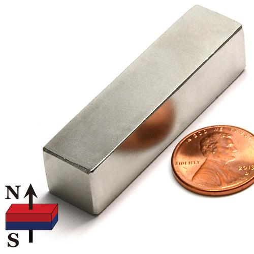 """2x1/2x1/2"""" Rare Earth NdFeB Bar Magnet"""