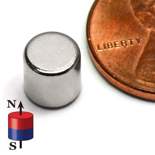 "1/4""X1/4"" NdFeB Rare Earth N52 Neodymium Cylindrical Magnet 1/4""x1/4"" Rare Earth Cylinder Magnets"