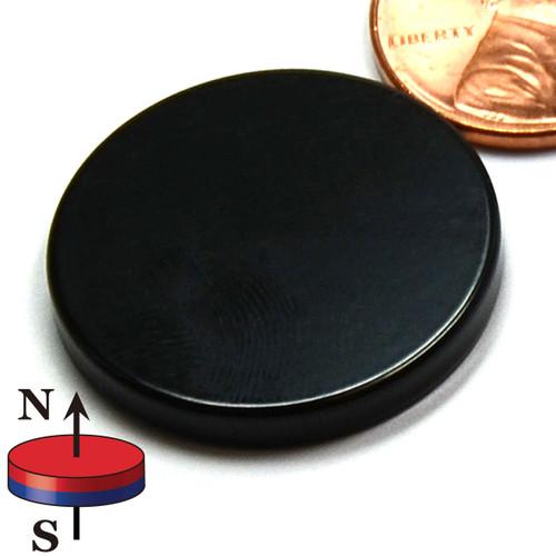 "1""X1/8"" N50 Epoxy Coated Disc Neodymium Magnet"