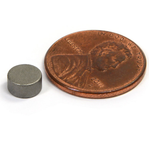 Samarium Cobalt Disc Magnets  The Other Rare Earth Magnets Samarium Cobalt Magnets Have Higher working Temps Than Neodymium & Enhanced Corrosion Resistance Too! (SMD020-26)