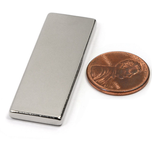 "Rare Earth Rectangle Magnet Powerful Neodymium Block Magnet N45 1-7/8""x5/8""x1/8"""