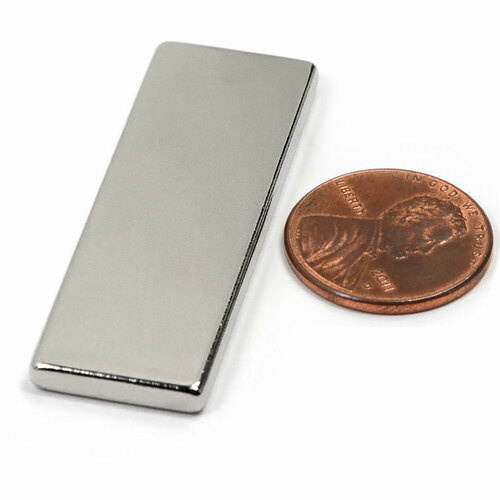 "Rare Earth Rectangle Magnet Powerful Neodymium Block Magnet N45 1-7/8""x5/8""x1/8"""
