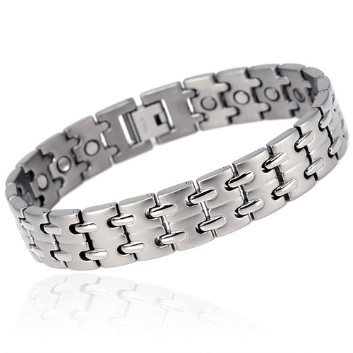 magnetic bracelet Novoa Men 's Titanium