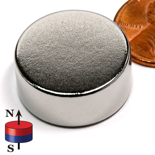 "1""X3/8"" N42 Disc Neodymium Magnet"