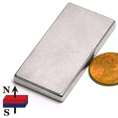 "2x1x3/16"" NdFeB Rare Earth Magnet"