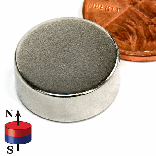 "5/8""X1/4"" NdFeB Rare Earth"