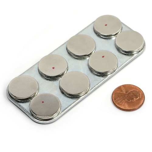 Neodymium Magnet Assembly w/ Super Grip