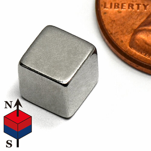 "1/4"" Cube NdFeB Rare Earth Magnets"