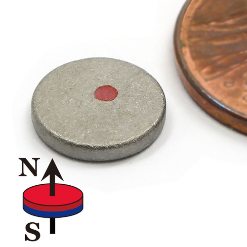 "Samarium Cobalt Magnets Dia 3/8x1/8"" SmCo Disc Magnets"
