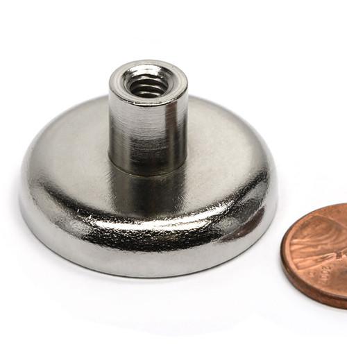 Neodymium Cup Magnet w/ Female Threaded Stud