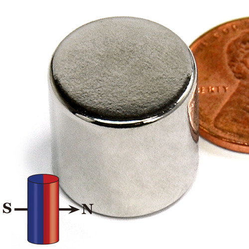 "5/8X5/8"" Diametrically Magnetized NdFeB N42 Neodymium Disc Magnet 5/8""x5/8"""