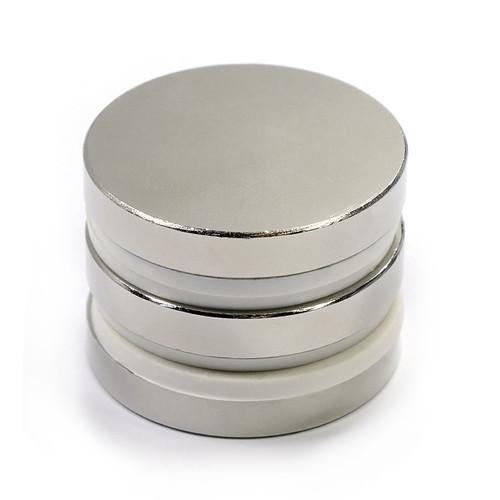 """N45 1-1/2""""x1/4"""" Neodymium Rare Earth Disc Magnet ("""