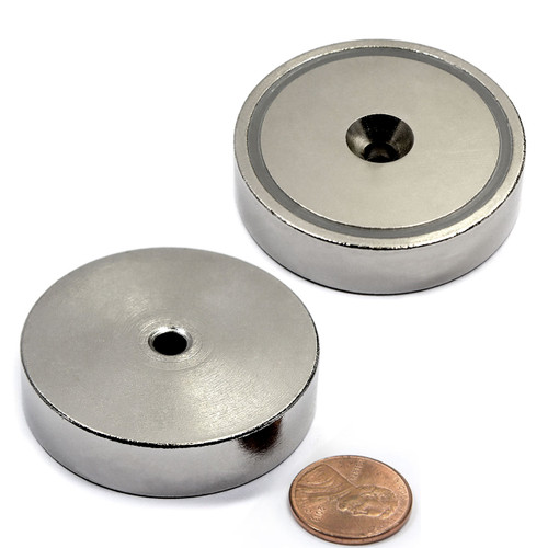 Magnetic round base