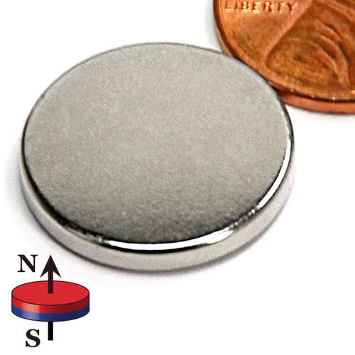 "3/4X1/10"" NdFeB Rare Earth Magnets"