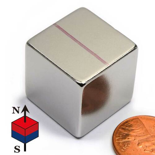 Neodymium Rare Earth Cube Magnet