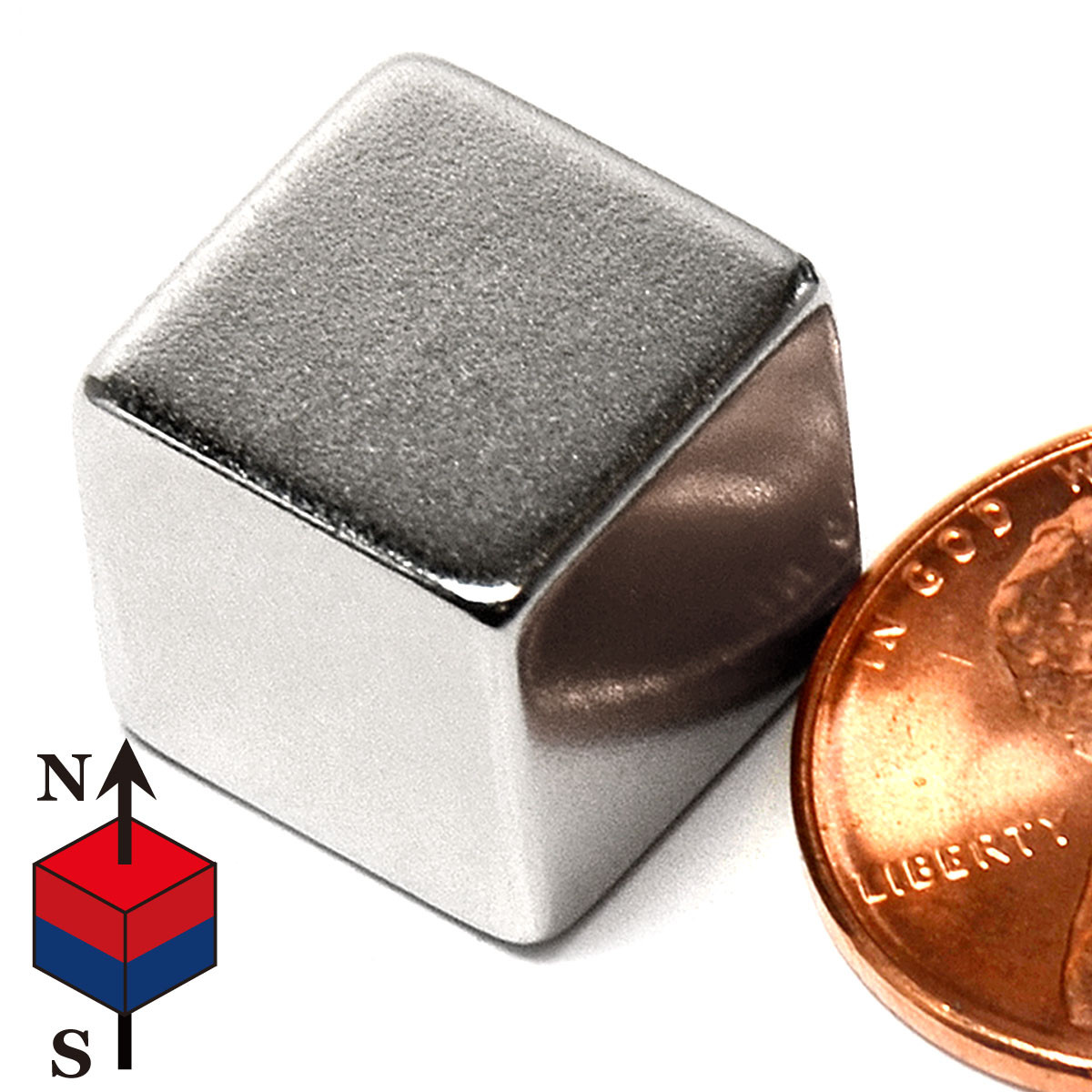 Magnet cube 1/4""