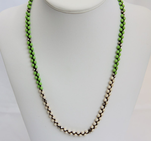Wrap once around to wear as a necklace.