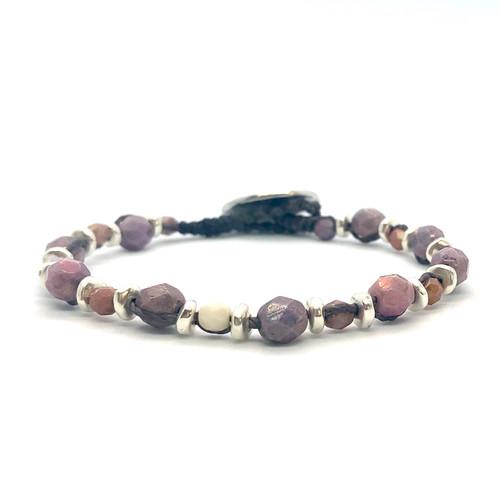 Spirit Bracelet - luster mosaic/silver