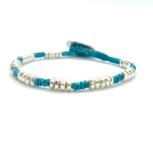 Mighty Bracelet - silver/turquoise