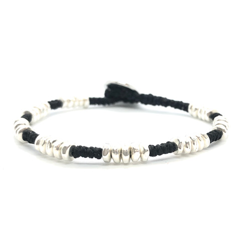Mighty Bracelet - silver/black