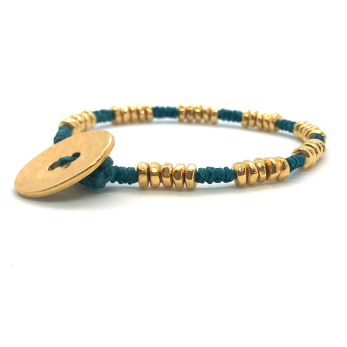 Mighty Bracelet - emerald/gold