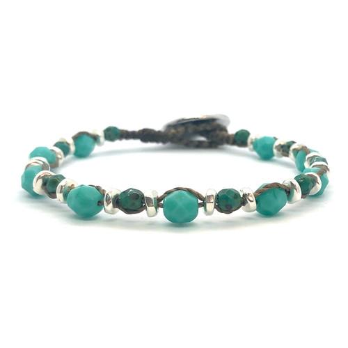 Spirit Bracelet - silver/turquoise