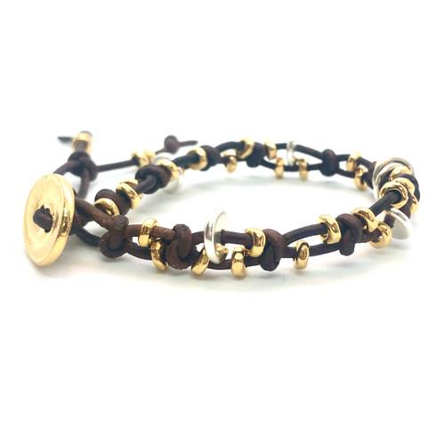Bountiful Leather Bracelet