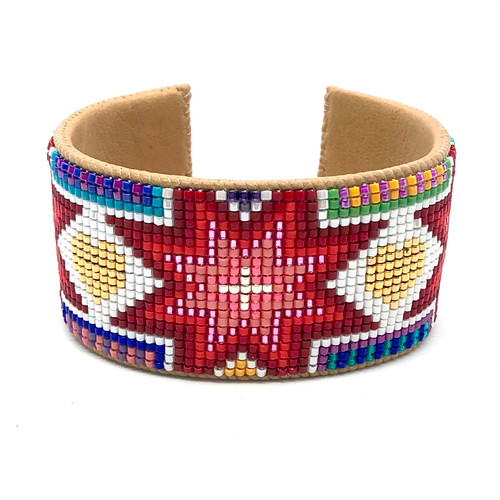 Luxe Cuff - 3 Red Stars