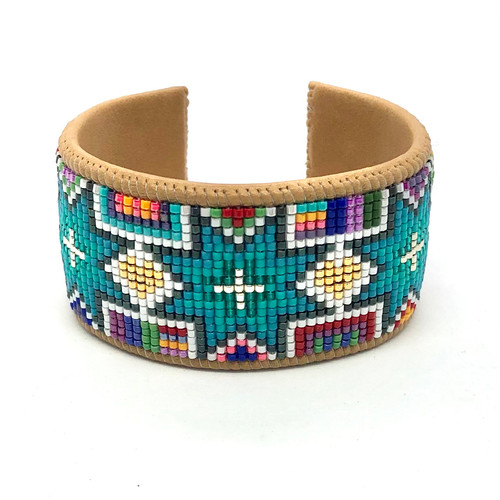 Luxe Cuff - Turquoise Stars