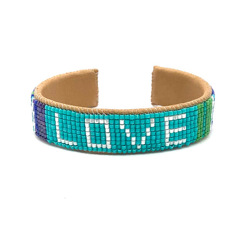 Luxe Cuff - Turquoise Love