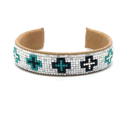 Luxe Cuff - Mini Crosses