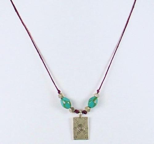 Silver Burst Necklace