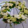 Pure Sympathy Wreath Arrangement