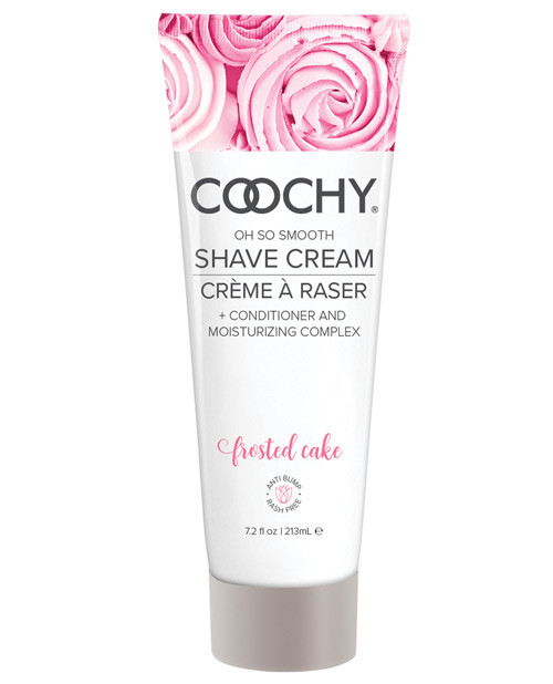 Coochy Shave Cream Frosted Cake 7.2 oz tube