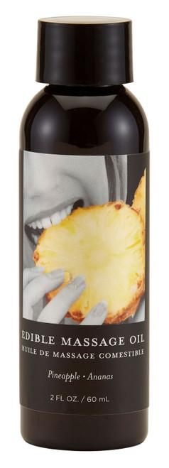 Massage Oil Edible Pineapple