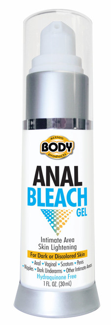 Body Action Anal Bleaching Gel bottle