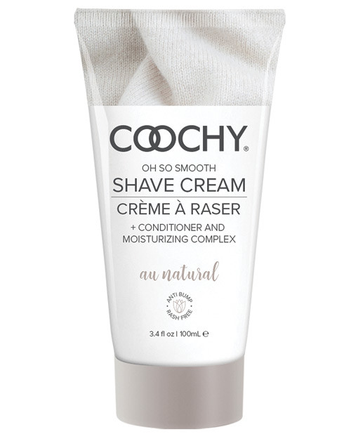 Coochy Shave Cream Au Natural tube