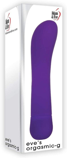 Eve's Orgasmic-G Vibrator in box - color purple