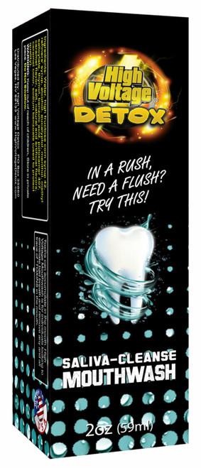 Box of High Voltage Detox Mouthwash
