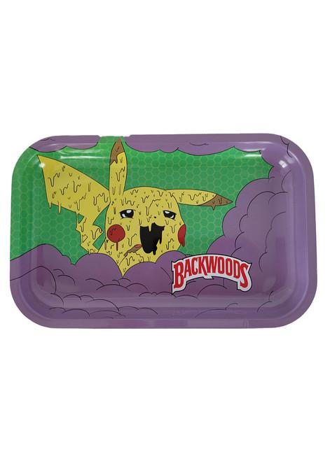 Backwoods Medium Rolling Tray - Pikachu