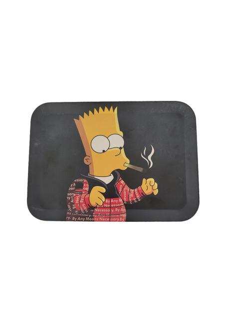 Bart simpson smoking tray