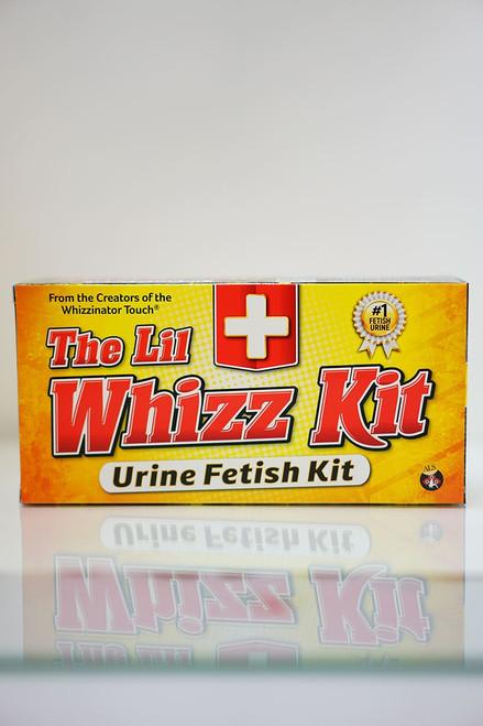Box of The Lil Whizz Kit urine fetish kit