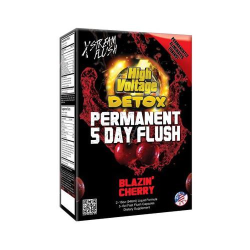 Box of high voltage detox blazing cherry