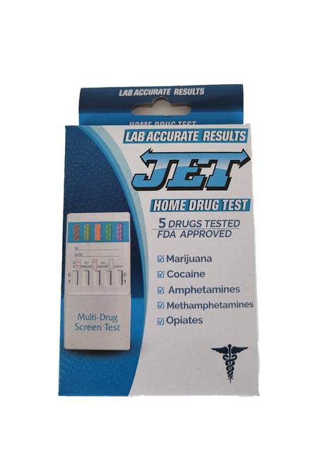 Box of Jet Detox 5 Panel drug test